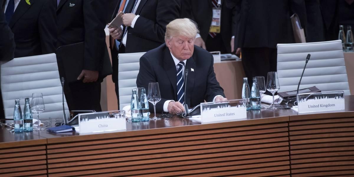 """Trump """"aislado"""" del G20 por sacar a Estados Unidos del Acuerdo de París"""