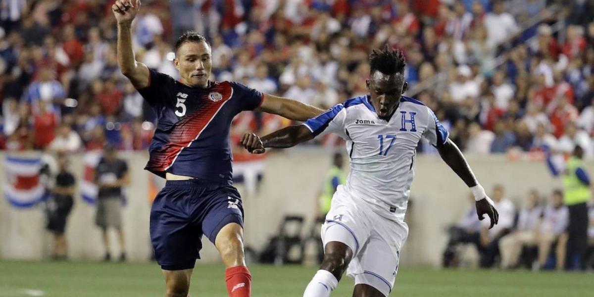 Costa Rica se lleva el clásico centroamericano ante Honduras en Copa Oro