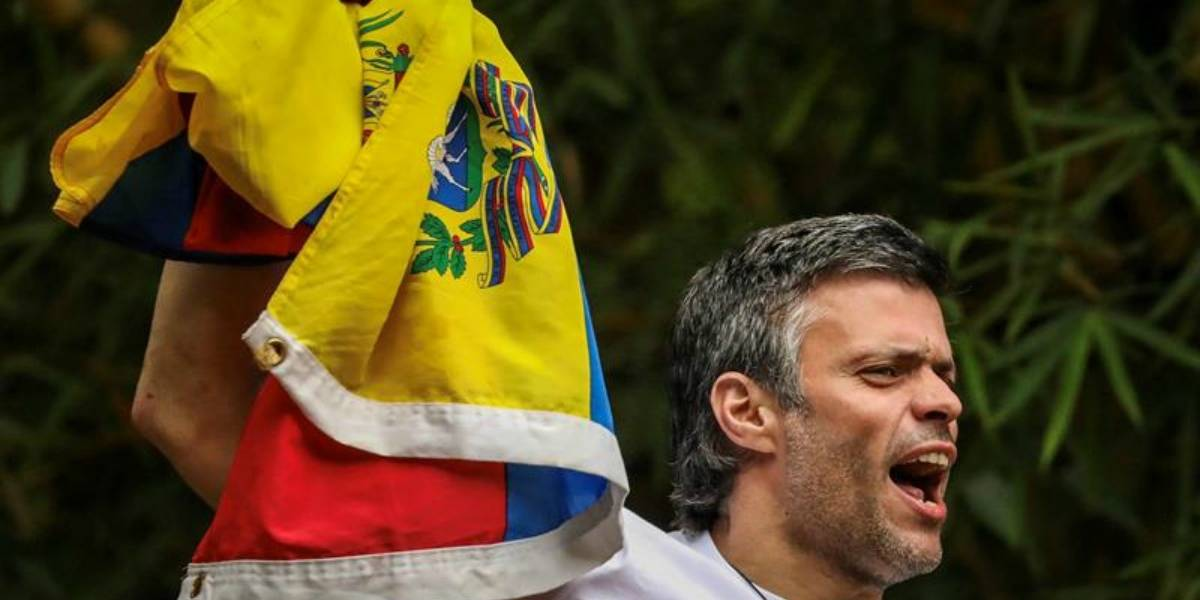 """Leopoldo López reafirma posición contra el """"régimen"""" de Maduro y se compromete a luchar """"hasta conquistar la libertad de Venezuela"""""""