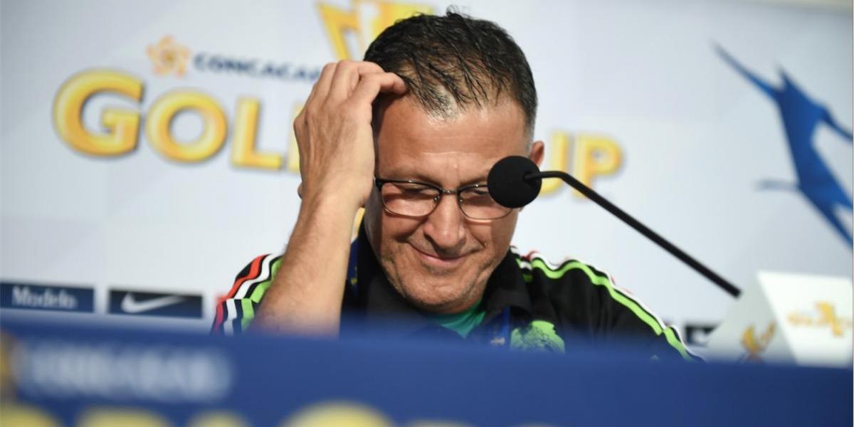 """Técnico de México pide disculpas cerca del debut del """"Tri"""" en la Copa Oro"""