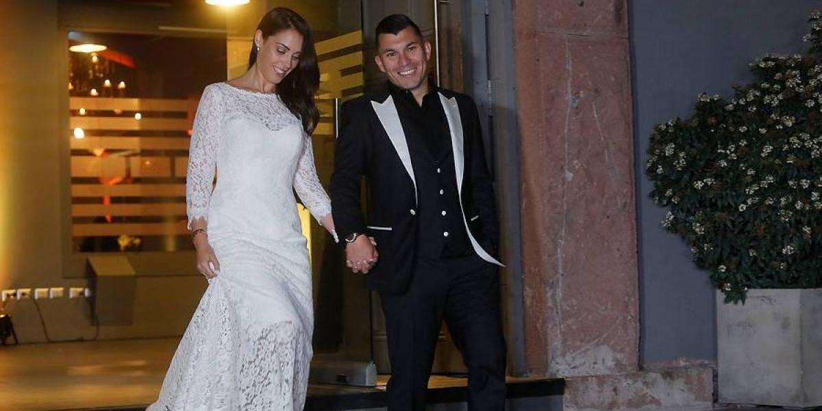 Así se casó el Pitbull: el matrimonio de Gary Medel con periodista española