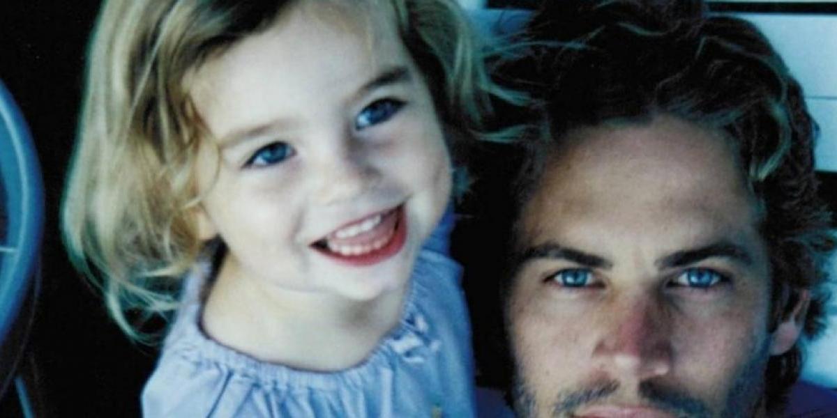 Hija de Paul Walker reaparece y se estrena como modelo