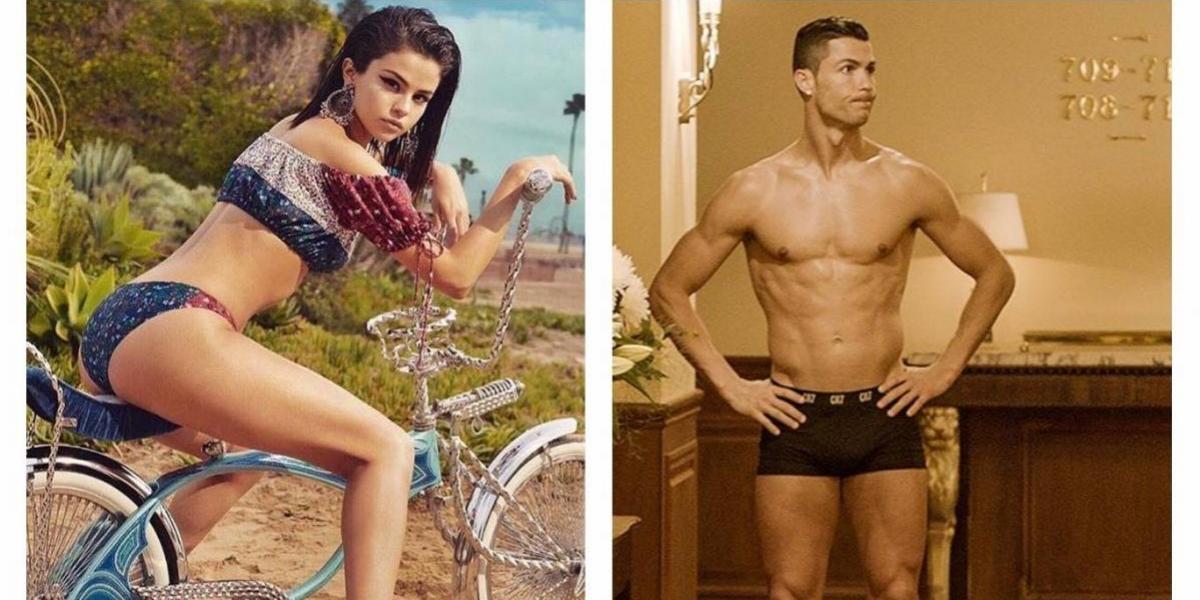¿Por qué comparan a Selena Gómez con Cristiano Ronaldo?