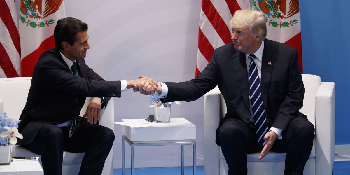 Peña Nieto y Trump acuerdan dejar atrás marcadas diferencias