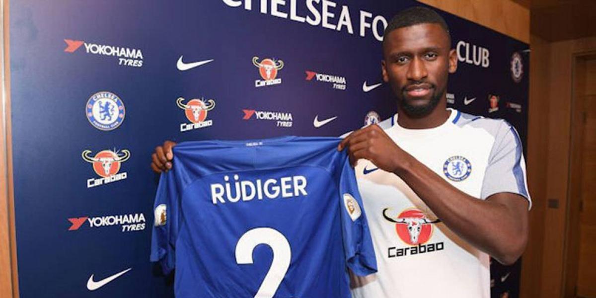 Llega a reemplazar a Terry: el alemán Rudiger es nuevo jugador del Chelsea