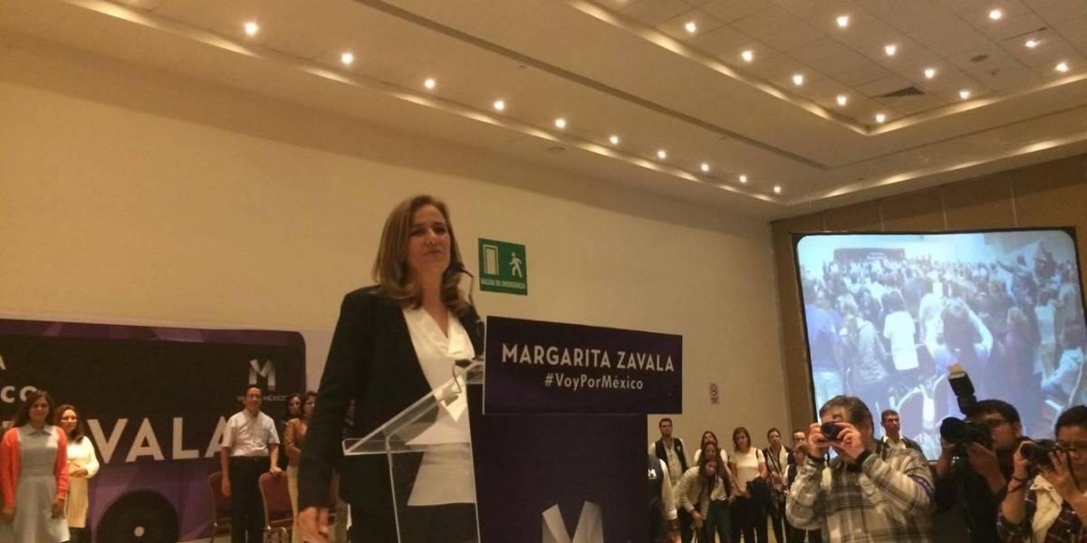 Muere padre de Margarita Zavala