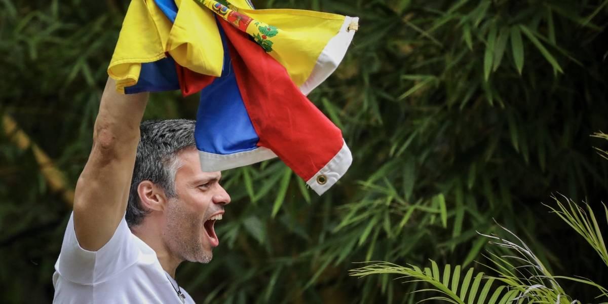 """Venezuela entra en huelga y López dice que el país está ante una """"amenaza clara"""""""