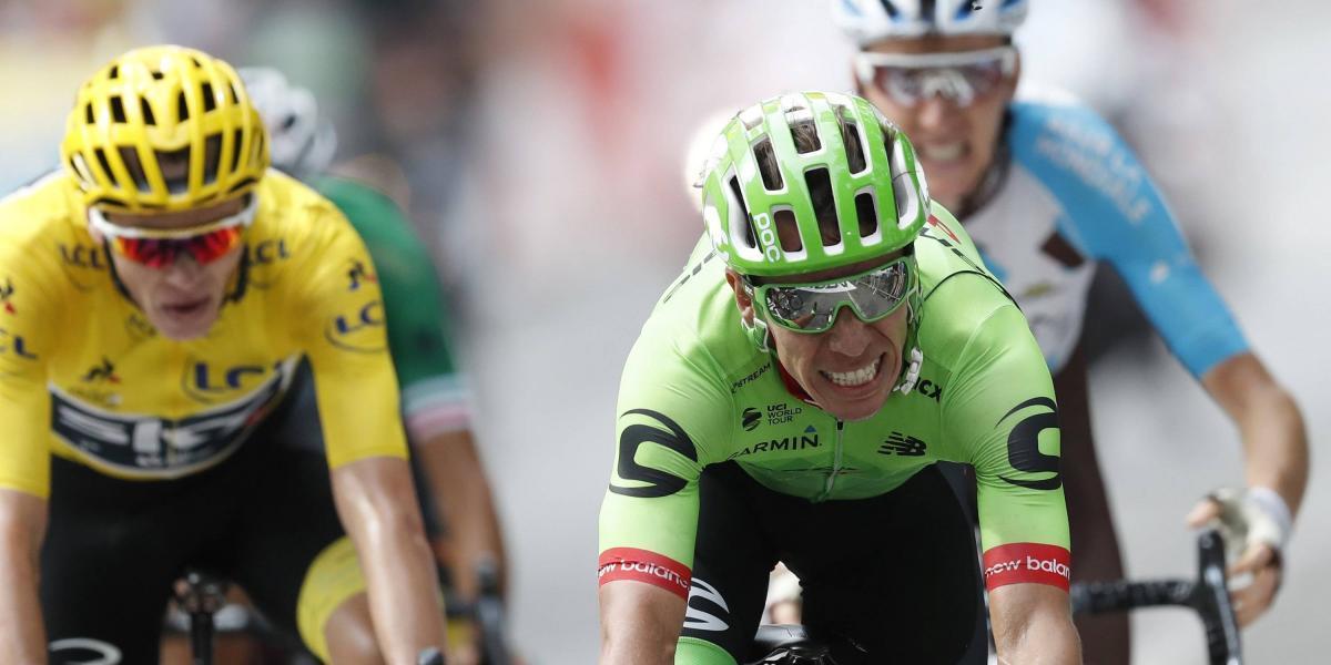 ¡La reina más linda! Rigoberto Urán ganó la etapa reina del Tour de Francia