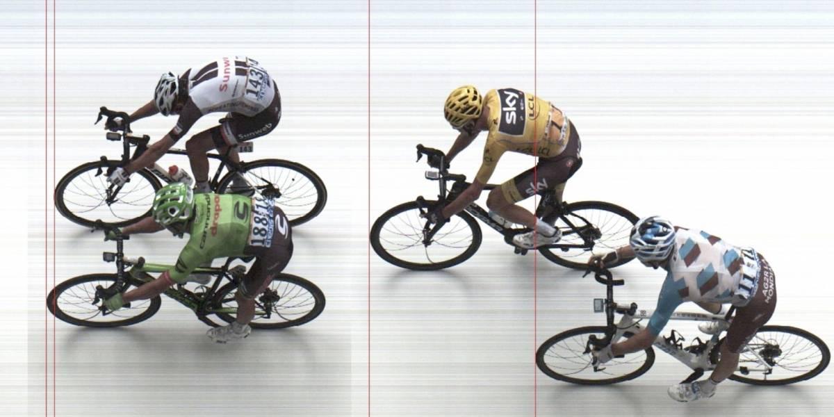 Rigoberto Urán se impone en el Tour de Francia con final de fotografía
