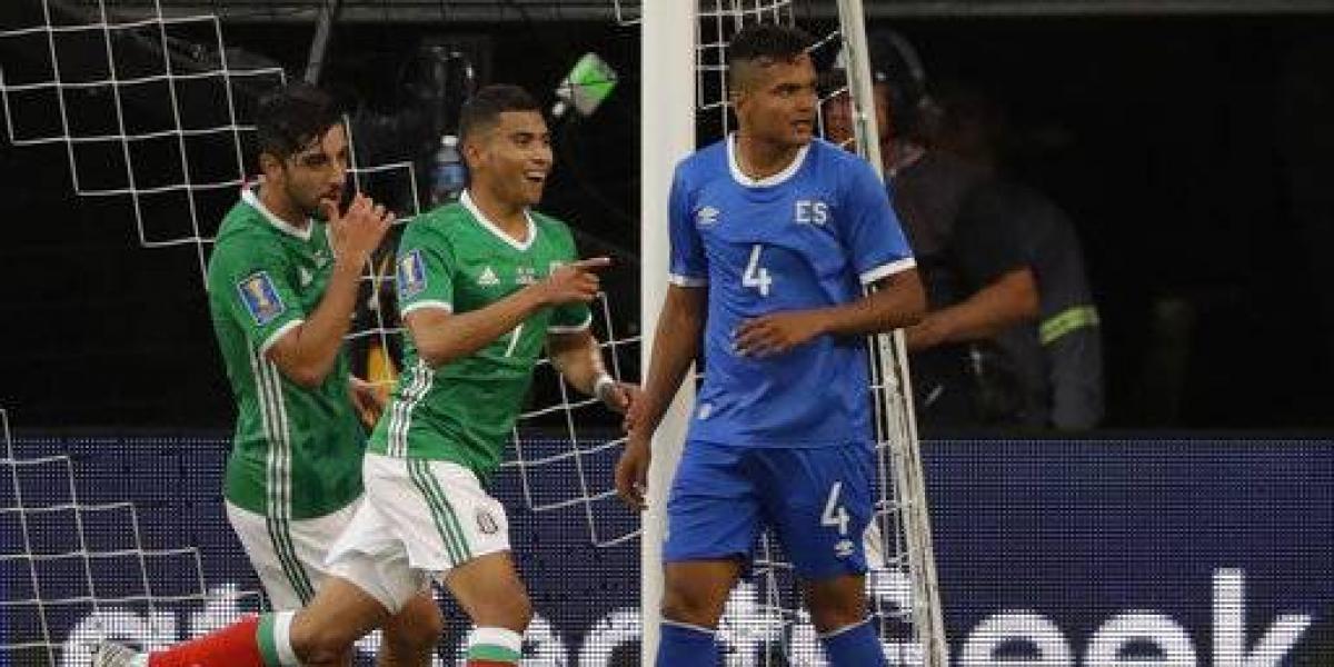 México se impone sobre El Salvador en la Copa Oro 2017