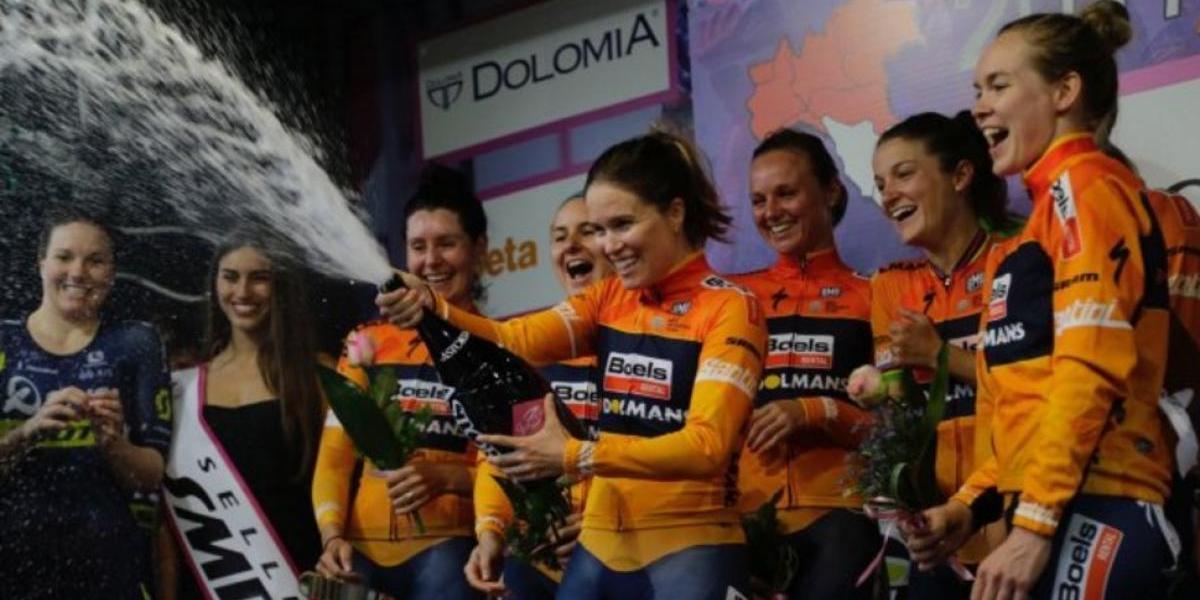 Van der Breggen, bicampeona del Giro Rosa
