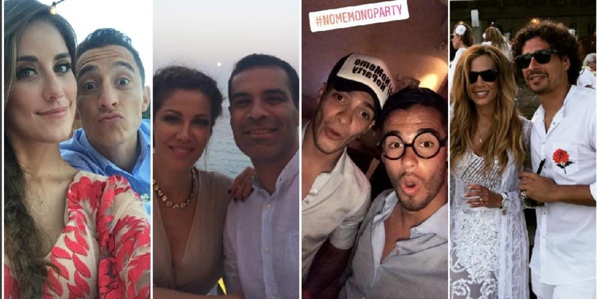 VIDEO: Así se vivió la boda de Memo Ochoa en Ibiza