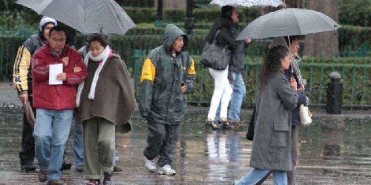 Continuarán fuertes lluvias en gran parte del país
