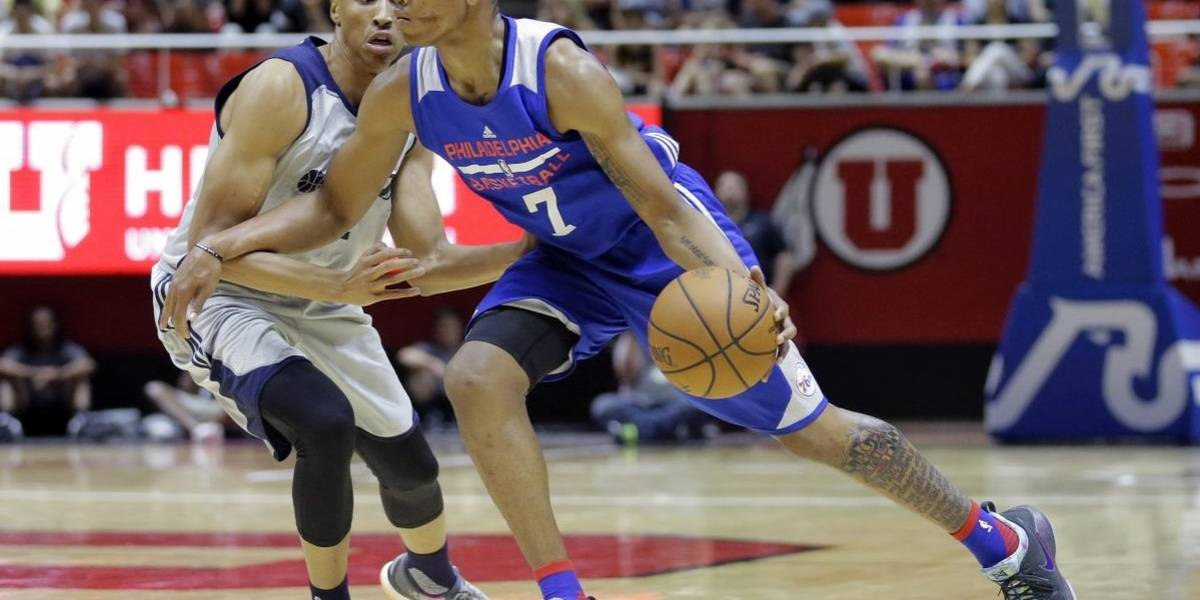 Fultz se lesiona y Lonzo Ball anota triple doble