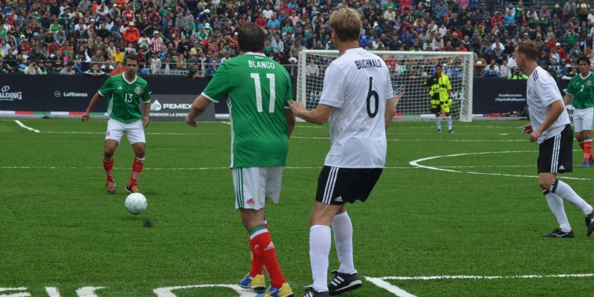 Alemania vence al Tri de leyendas y se lleva la Copa CDMX