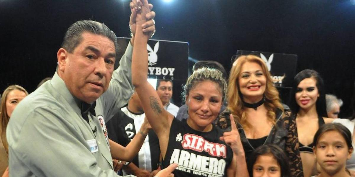 """Tras retener el título, """"Barby"""" Juárez va por Jackie Nava"""