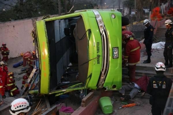 Tragedia Bus Lima
