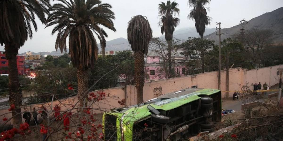 Presidente peruano expresó condolencias a víctimas del Bus Turístico