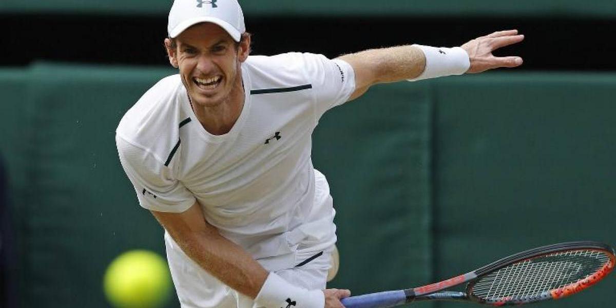 """Murray se clasifica a los cuartos de final en el """"lunes de locos"""" de Wimbledon"""