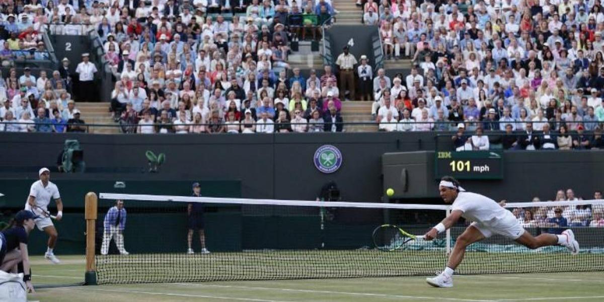 Rafael Nadal y Gilles Müller protagonizan una épica batalla en Wimbledon