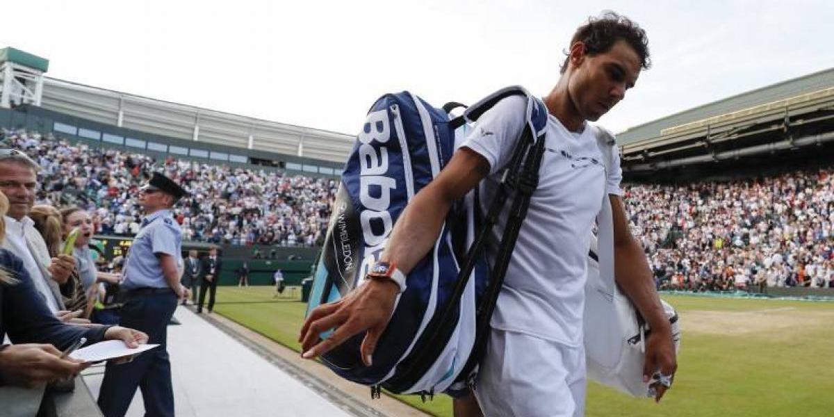 """Rafael Nadal se fue de Wimbledon criticando: """"Los partidos deberían repartirse mejor"""""""