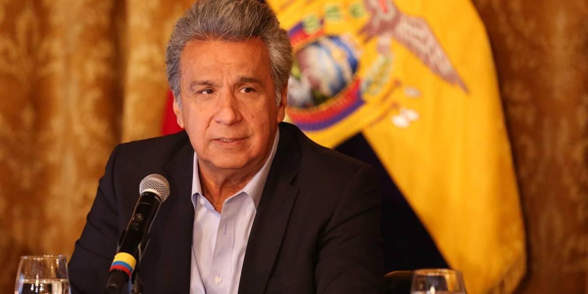 Presidente Moreno asegura que tomará decisiones sobre situación de Glas