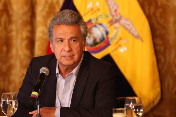 Lenín Moreno: 'Vamos a adecentar la política en el Ecuador'