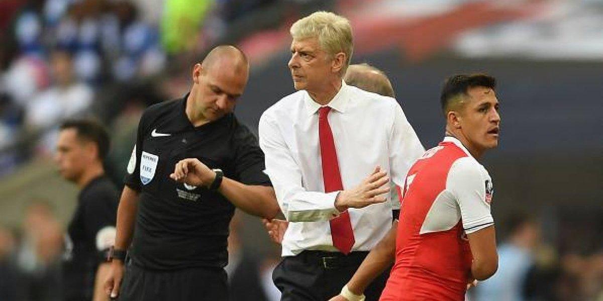"""Wenger es tajante en el tema Alexis: """"La decisión del Arsenal es no vender"""""""