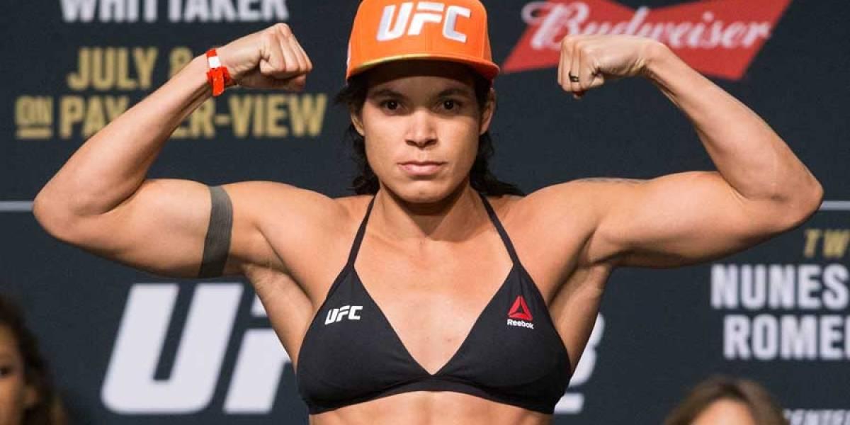 Amanda Nunes afirma que sinusitis la obligó a cancelar su pelea