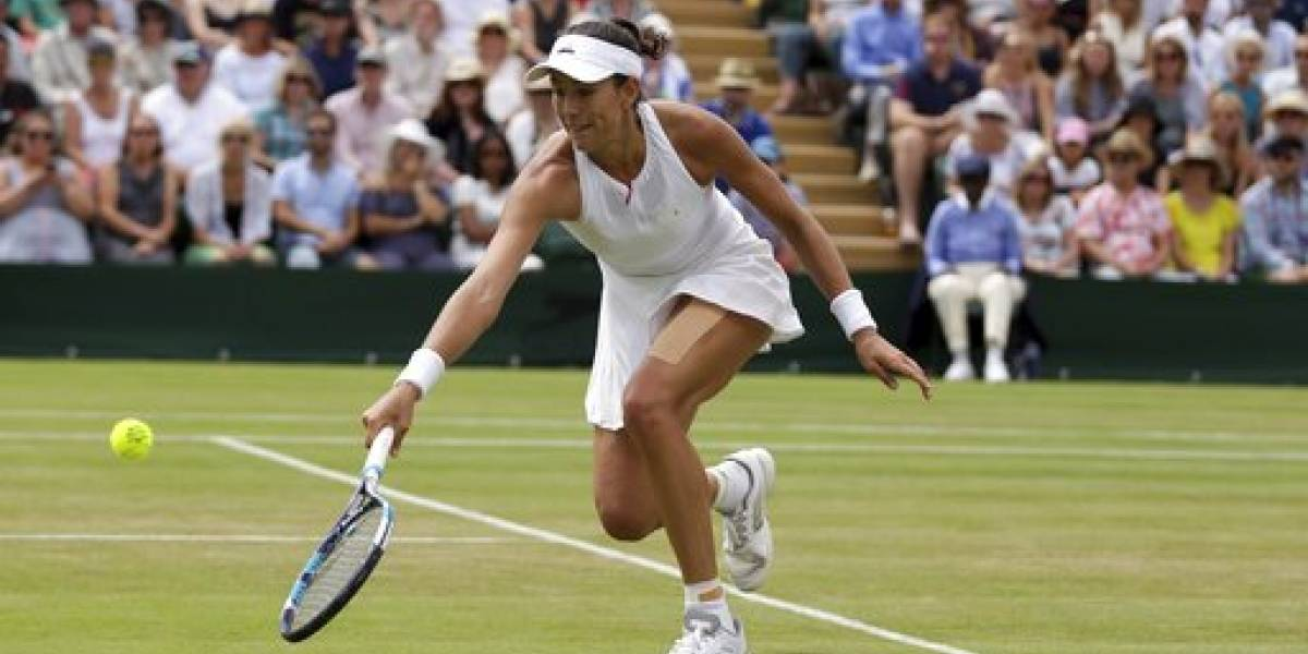 Muguruza elimina a Kerber de Wimbledon