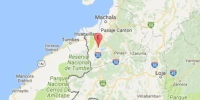 Un fuerte sismo de 5,7 grados remeció el noroeste de Ecuador