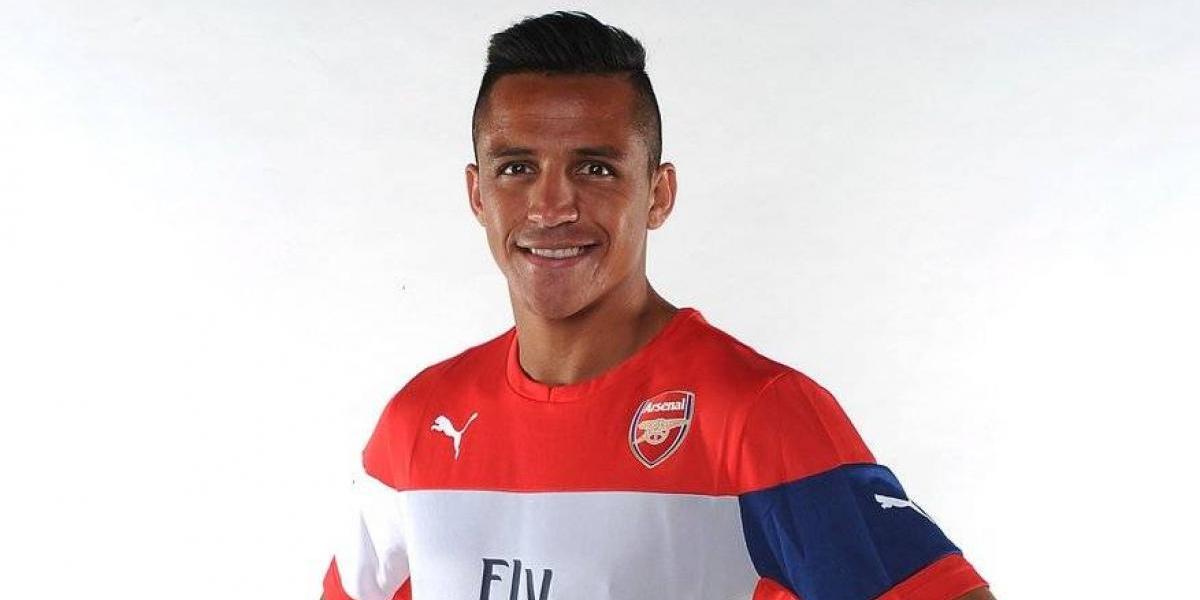 La especial dedicatoria con que Arsenal festejó los tres años de Alexis en el club