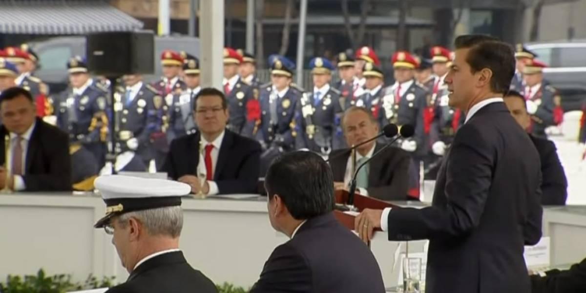 En México no hay lugar para imposiciones: Peña Nieto