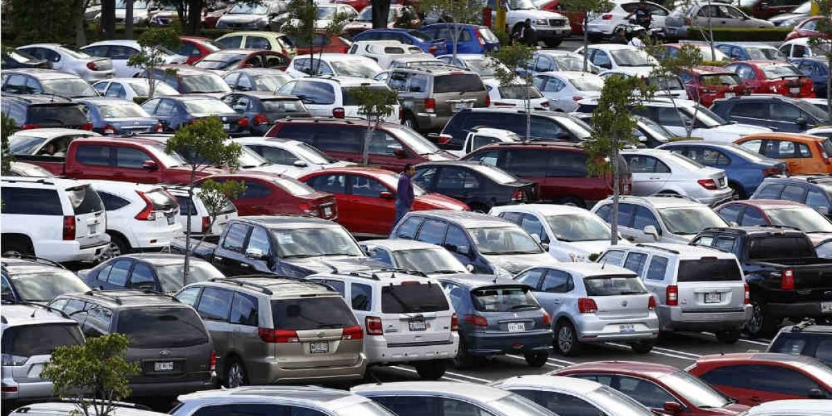 Limitarán estacionamiento en la Ciudad de México