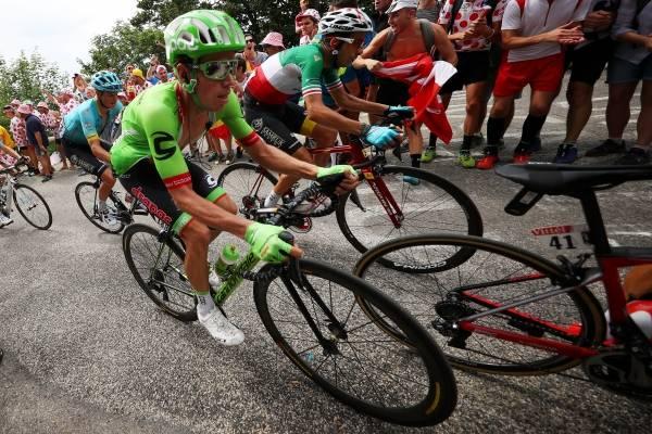 Clasificación general tras la etapa 17 del Tour