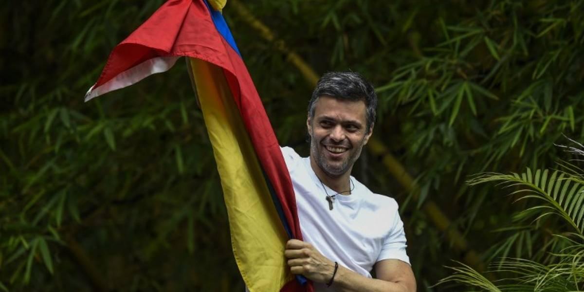 Leopoldo López inicia gestiones para lograr su libertad plena