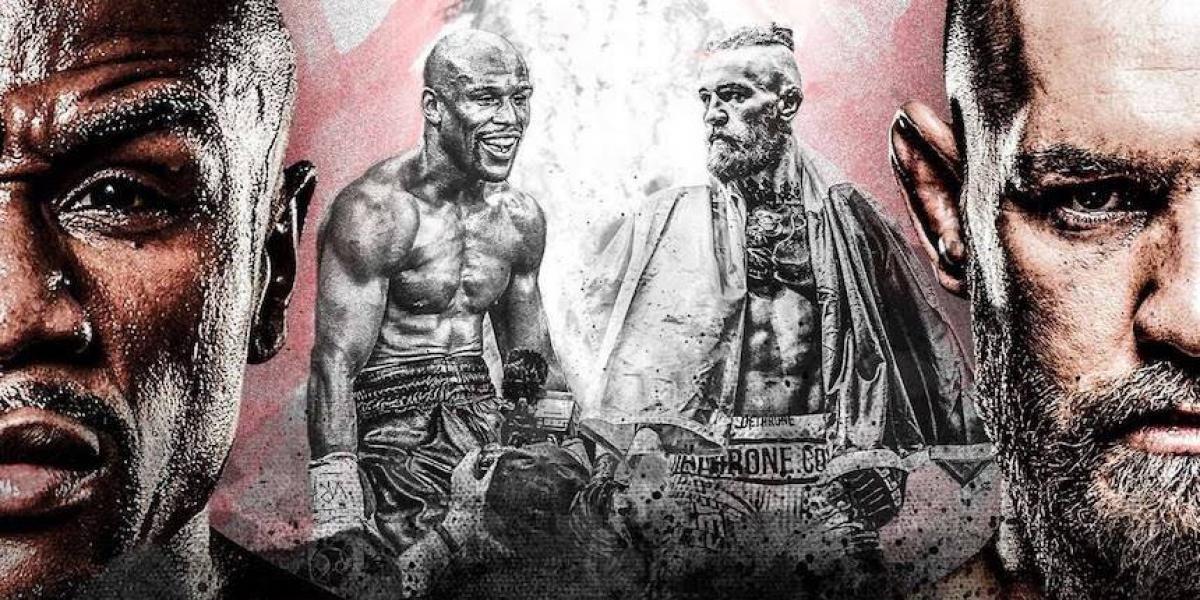 """""""Mi puño va a romper su cara"""", así promocionan la pelea Mayweather-McGregor"""