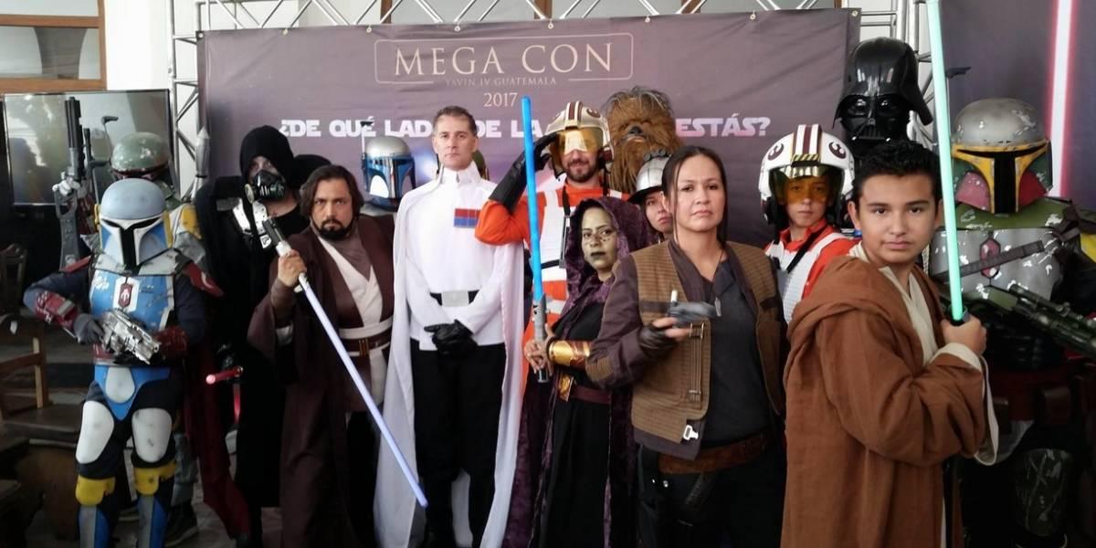 Todo listo para la esperada #MegaConGT de Star Wars