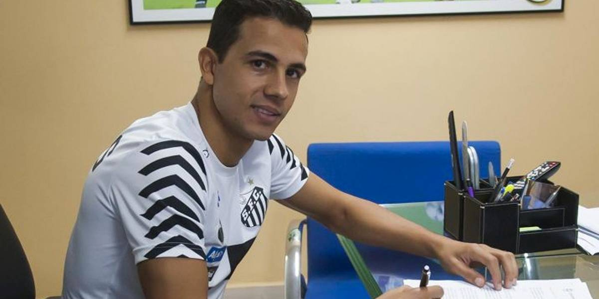 Nilmar pede demissão e Santos acerta rescisão contratual do atacante
