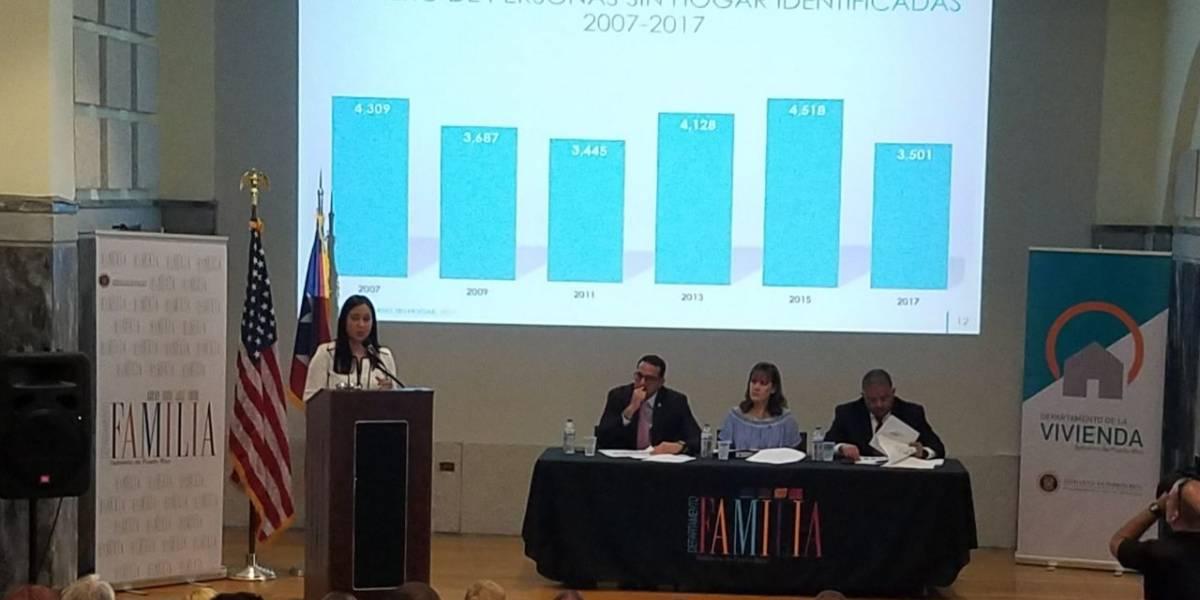 Conteo identifica 3,501 personas sin hogar en Puerto Rico