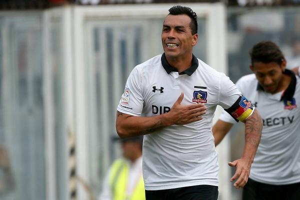 Paredes quiere retirarse con un título de Copa Libertadores / imagen: Photosport