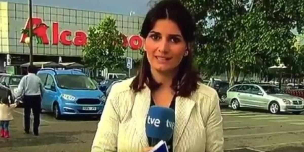 Reportera abandona transmisión en vivo luego de trabarse
