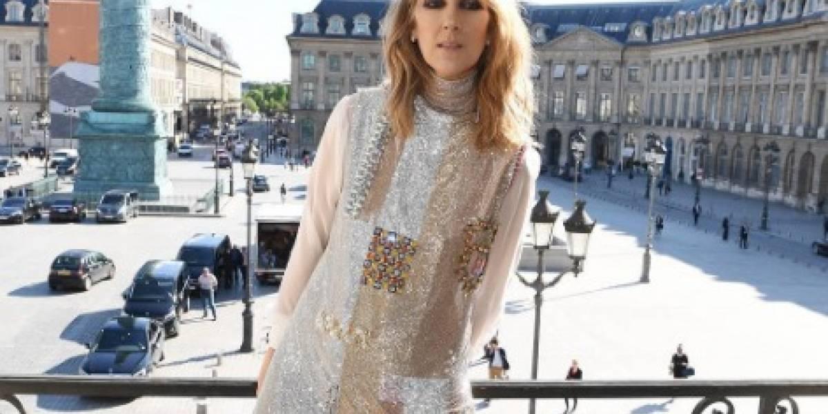 Celine Dion se desnuda a sus 49 años