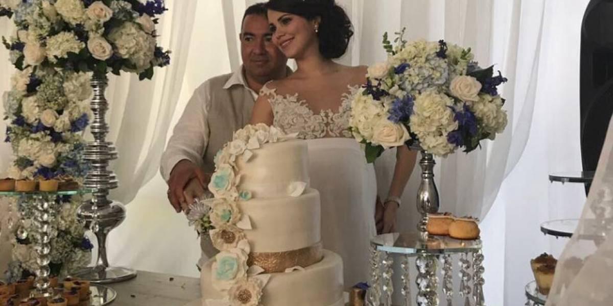 En fotos: Así fue la lujosa boda del hijo de 'La Gata' en cárcel de Barranquilla