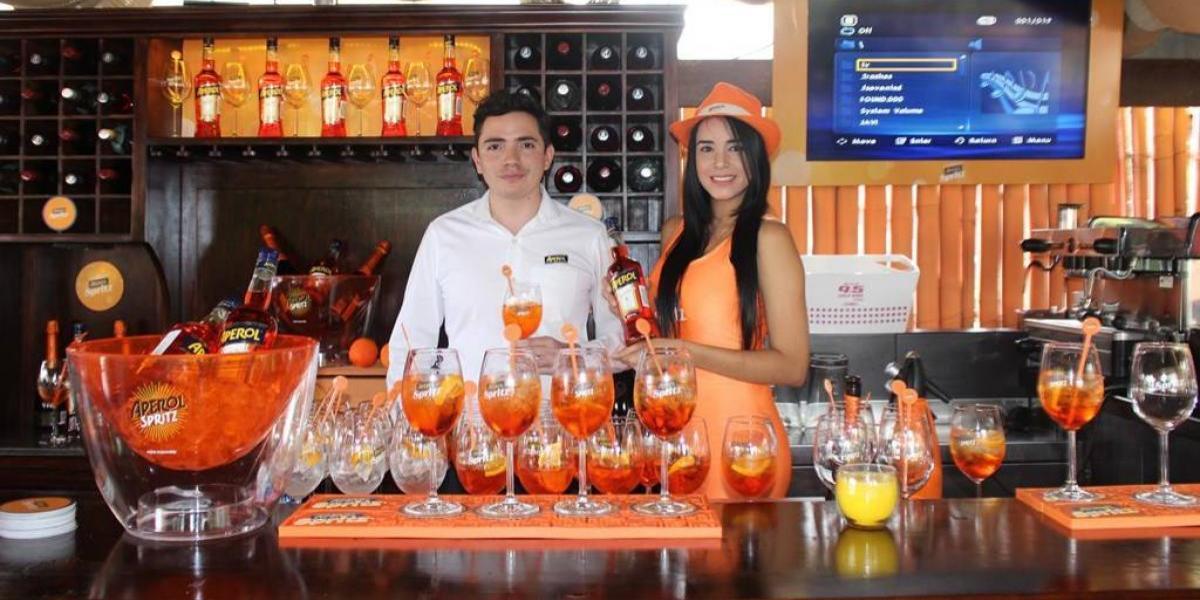 Nuevo lounge en Antigua Guatemala está inspirado en la Terrazza Aperol de Milán