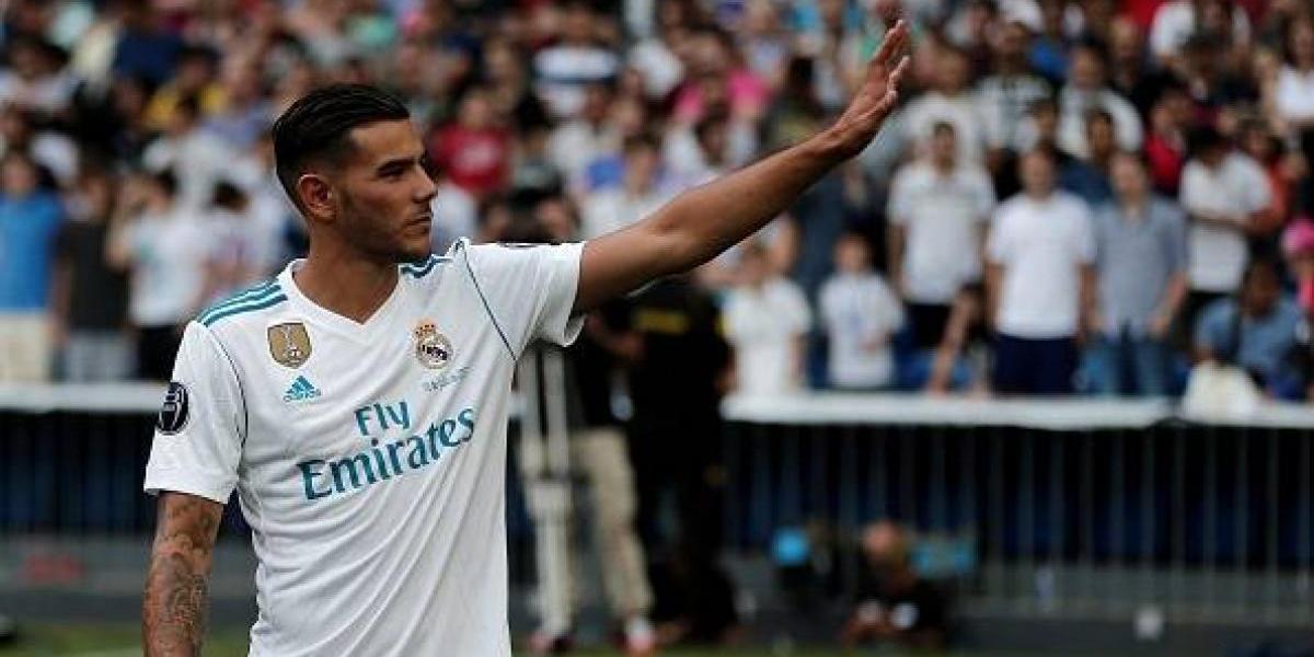 Real Madrid presenta oficialmente a Theo Hernández