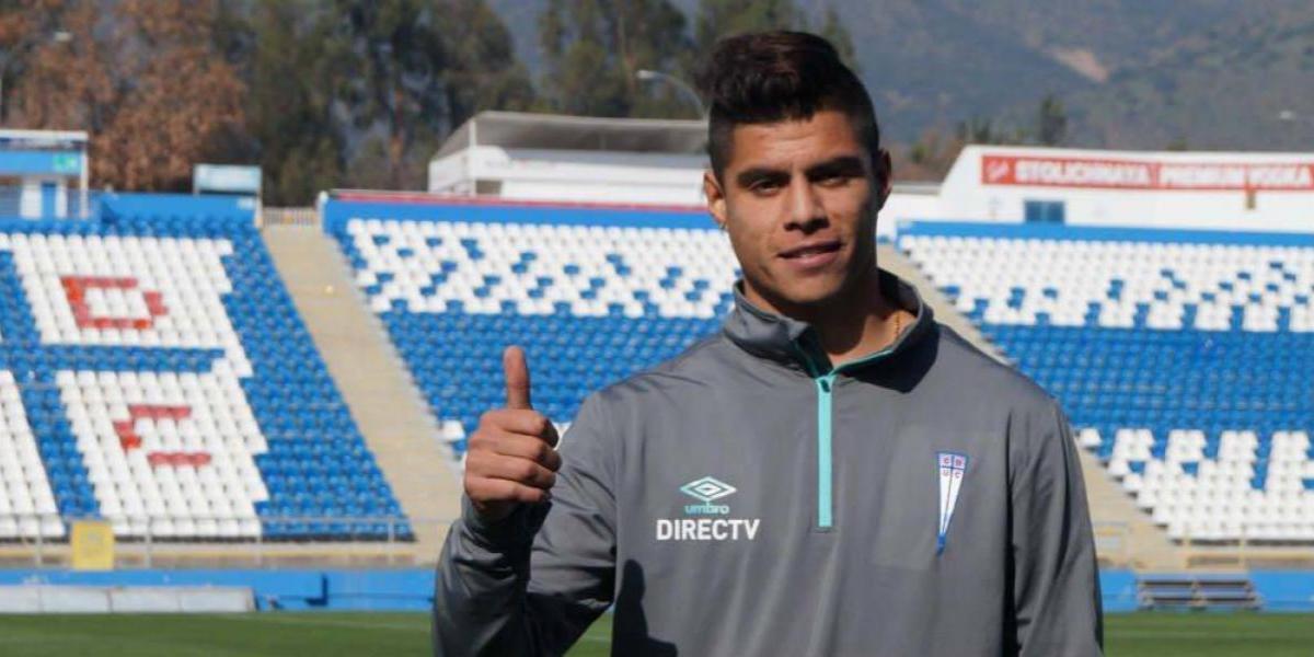"""Benja Vidal quiere acostumbrarse a la UC: """"Es un grupo que sale a ganar todos los partidos"""""""