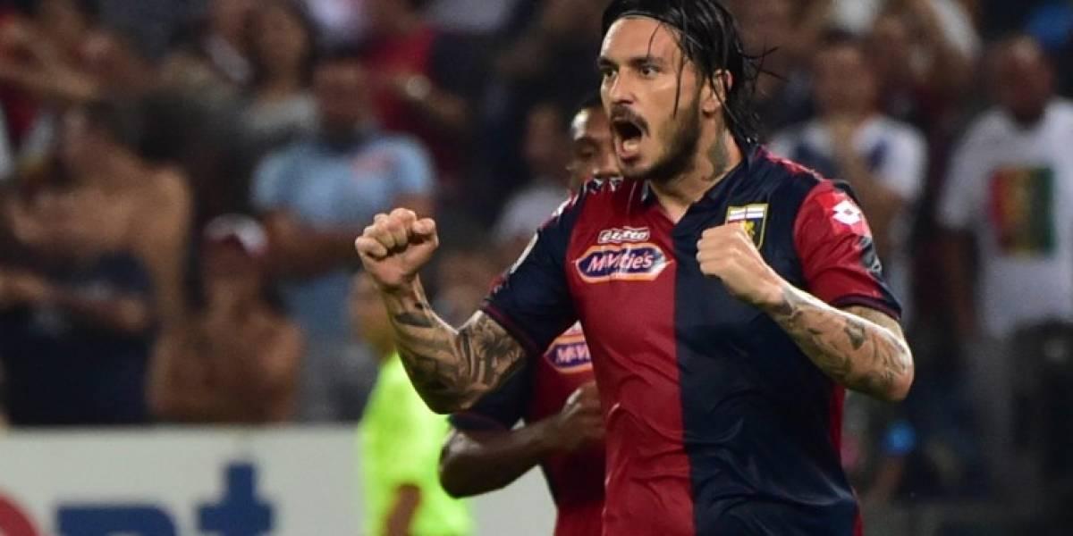 En Italia aseguran que Pinilla finalmente se va de Genoa y destraba su salida para llegar a la U