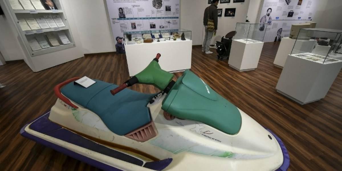 Desde laboratorios de cocaína hasta la moto de Pablo Escobar: el museo que muestra la historia de violencia en Colombia