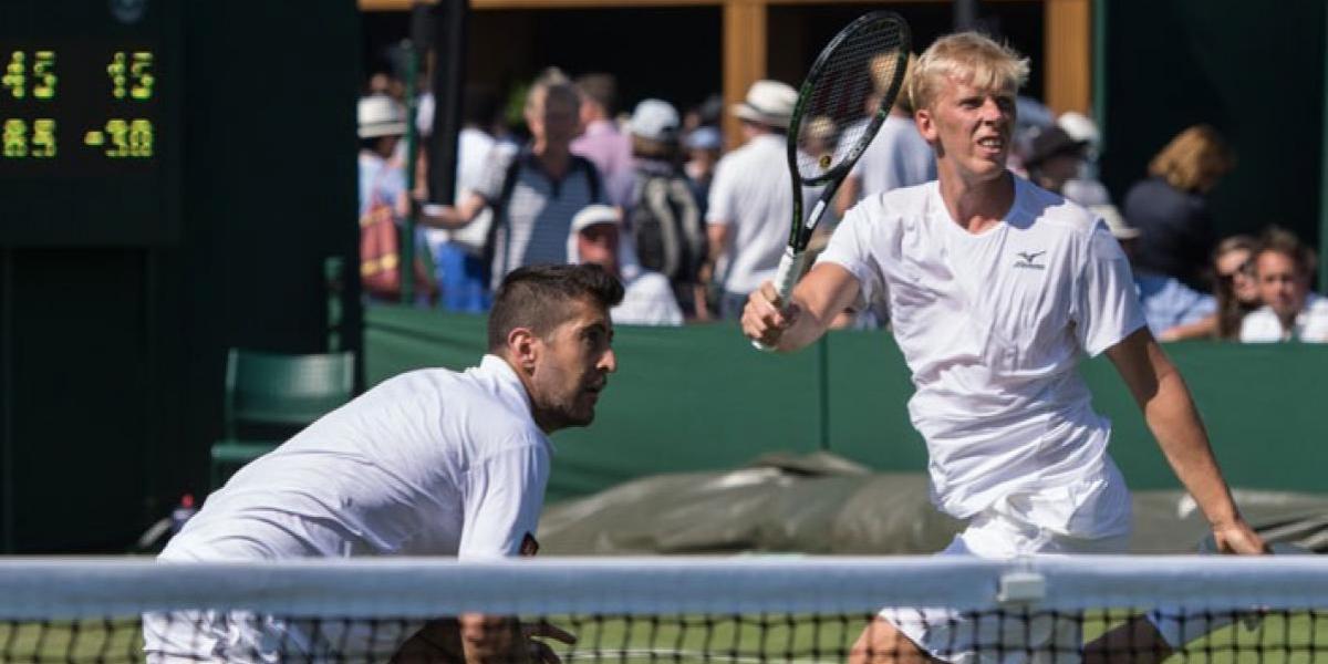 Así vivimos la batallada caída de Podlipnik en el dobles de Wimbledon